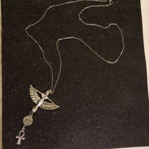Goddess maat charm necklace